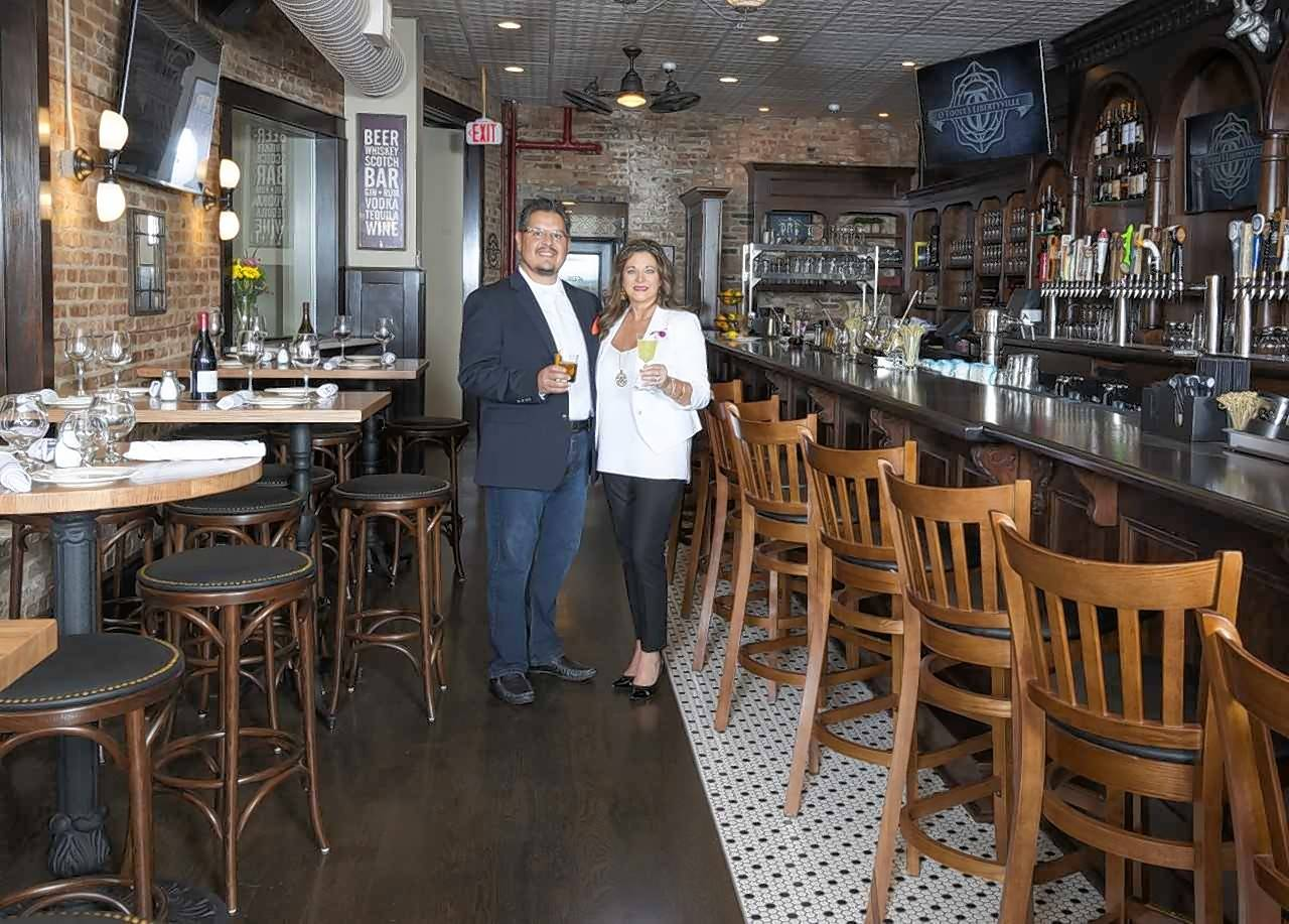 Husband-wife team Sara McKinnon and Humberto Martinez, Jr. are opening a Timothy O'Toole's Pub in Lake Villa.