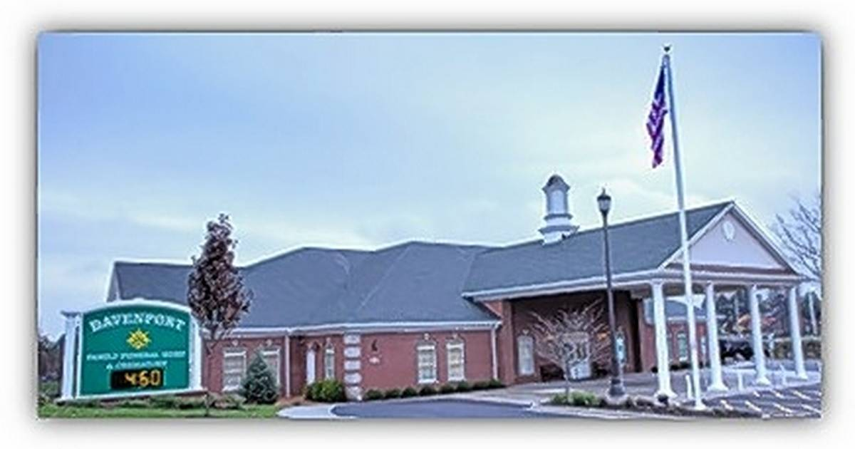 Davenport Funeral Home Barrington