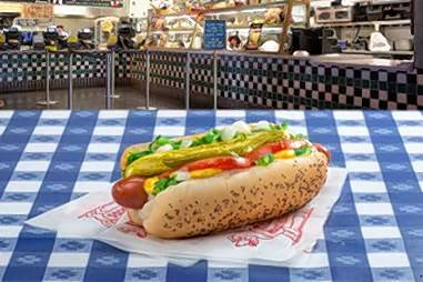 Beginning today, Portillo's will begin delivery services.