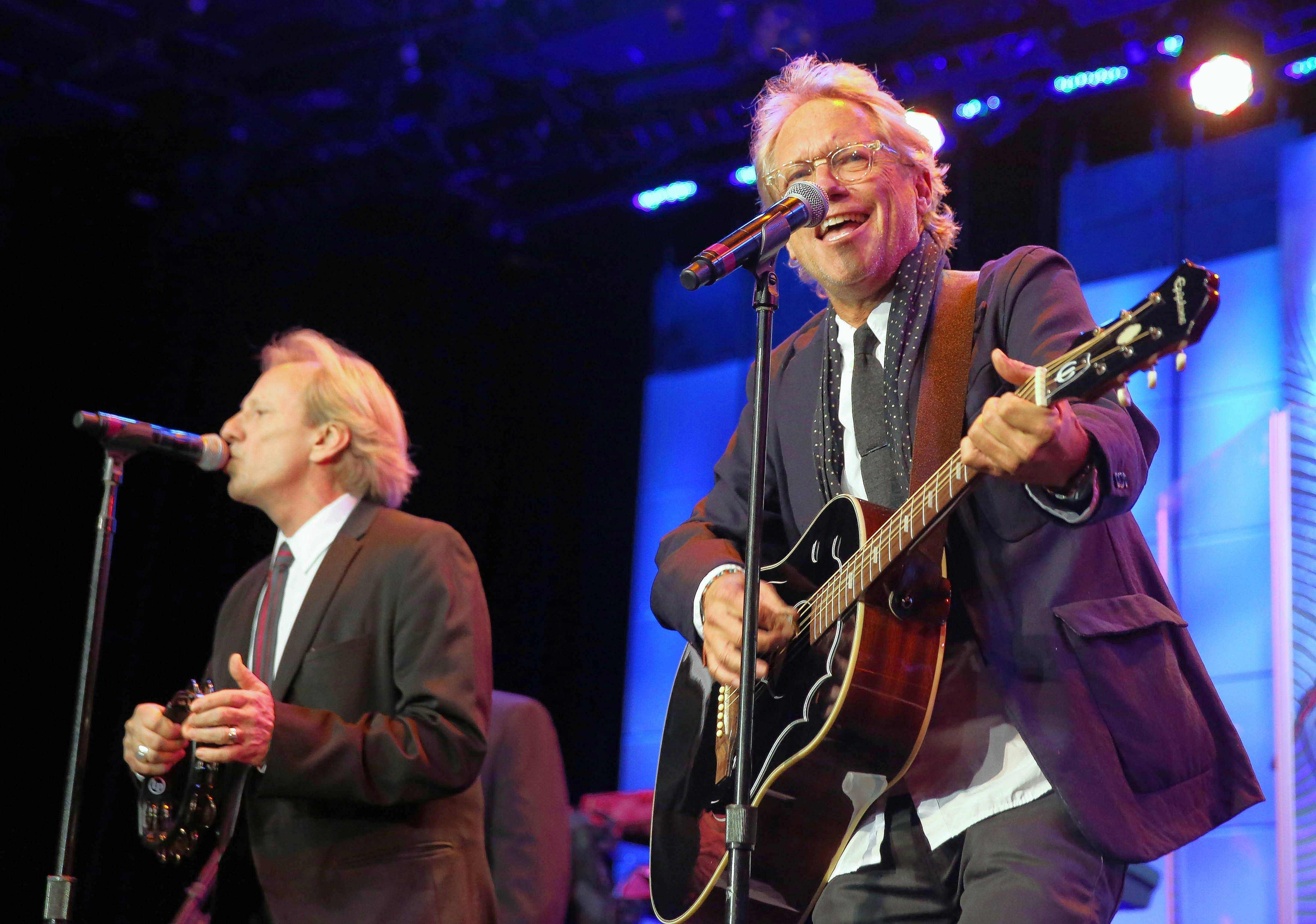 Dewey Bunnell, left, and Gerry Beckley will perform with America Saturday and Sunday, Nov. 18 and 19, at the Arcada Theatre in St. Charles.