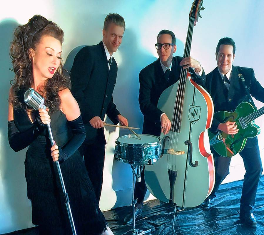 Retro rock band Rosie and the Rivets kicks off a four-show holiday set Saturday, Nov. 18, at Chicago's Hard Rock Cafe.