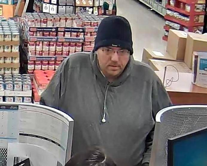 The FBI says this man is a serial bank robber that most recently held up the TCF Bank inside the Jewel-Osco at 1156 Maple Ave. in Lisle.