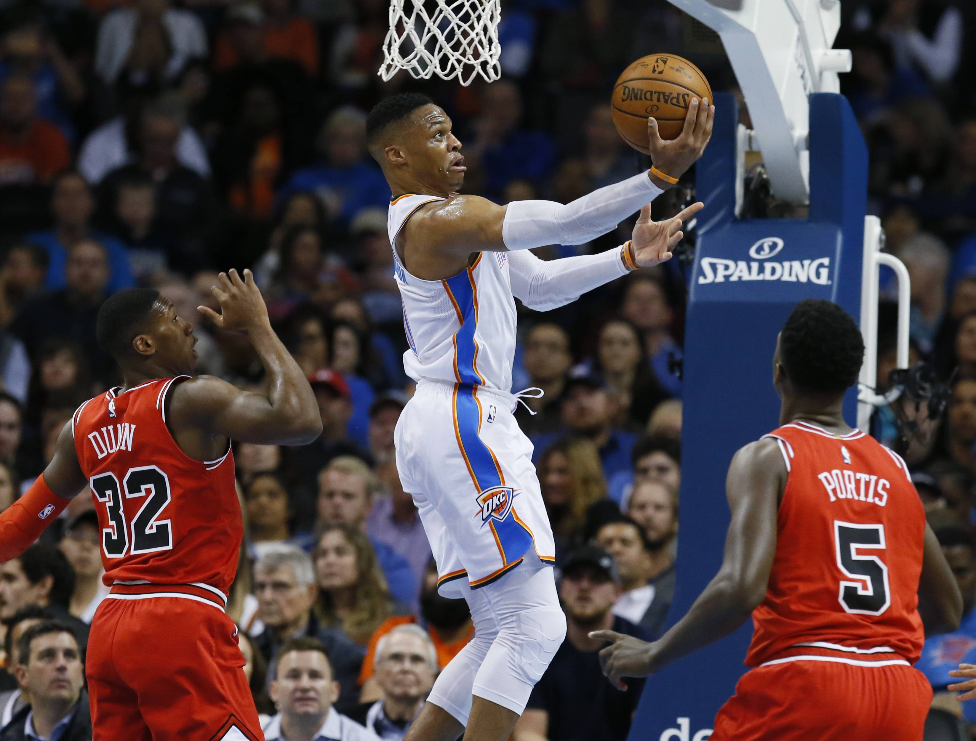 Slow start dooms Chicago Bulls in OKC, but they find a scorer