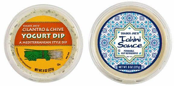 trader joe's recalls yogurt dip and tahini sauce