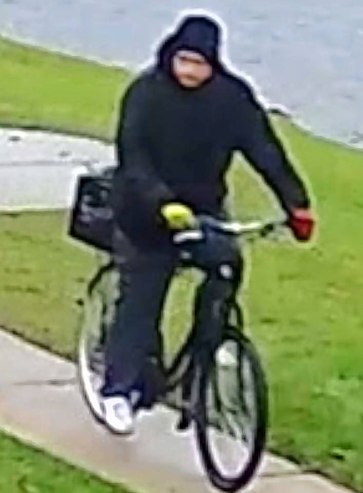 Police say this man spoke to students and offered them rides at a bus stop near Des Plaines on Wednesday.