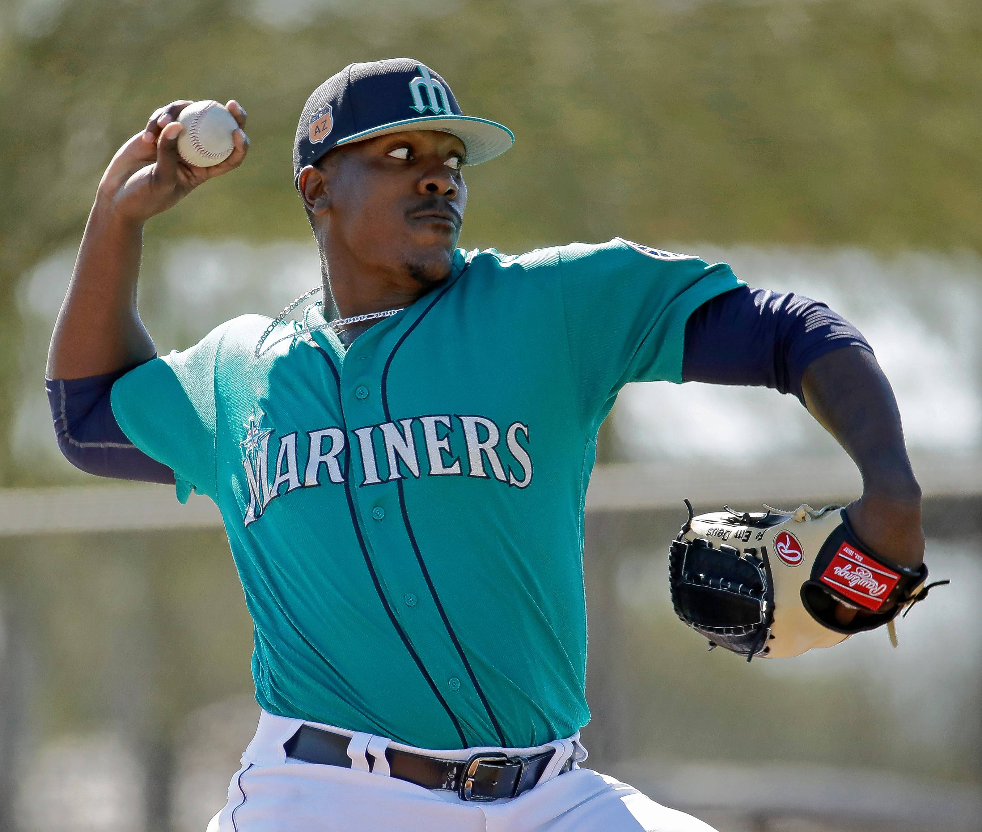 Relief pitcher Thyago Vieira made his major league debut with the Seattle Mariners last season. A native of Brazil, he was traded Thursday to the Chicago White Sox.