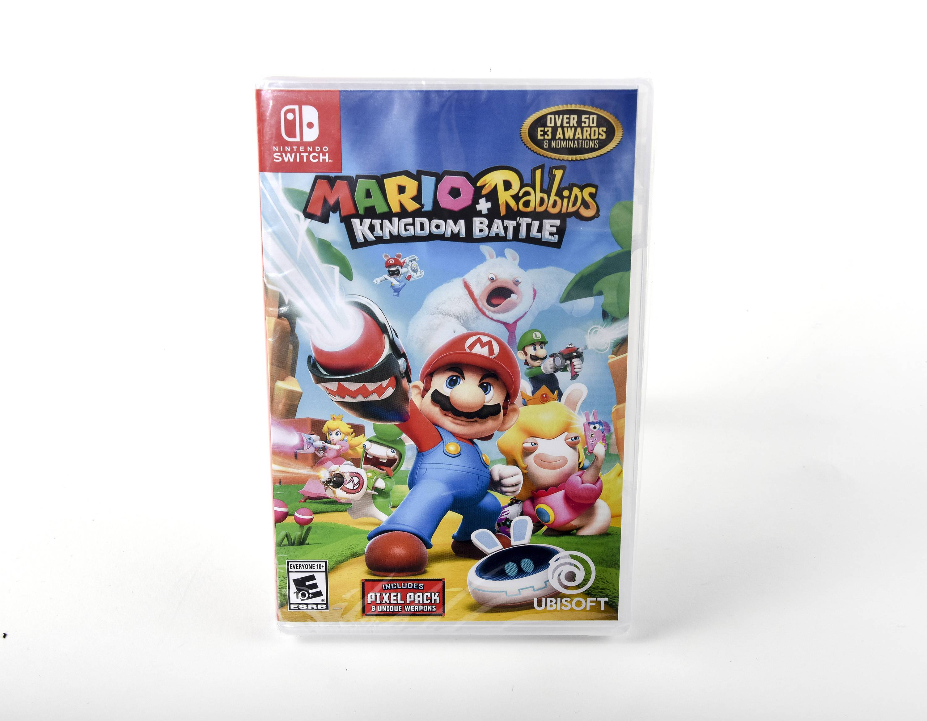 Mario and Rabbids video game