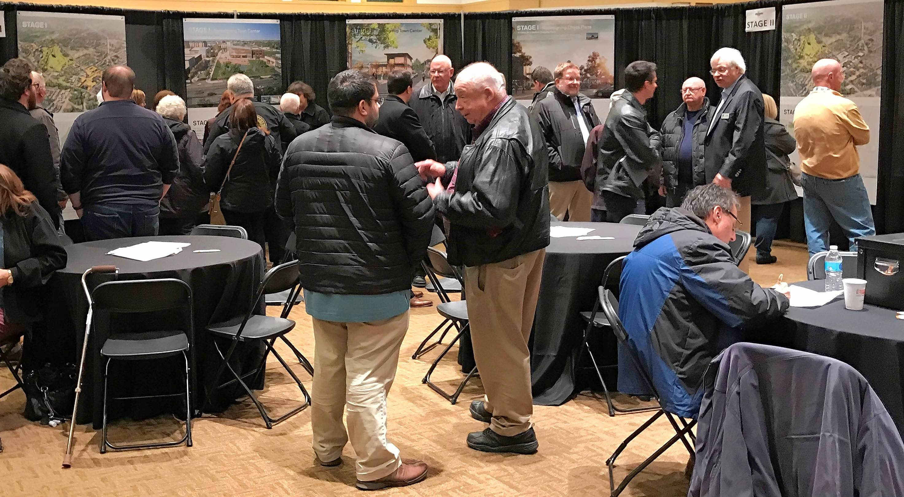 Residents had a wide variety of opinions on the draft plan for the Lake-Cook Road corridor, which was unveiled Thursday by Buffalo Grove planners and consultants.