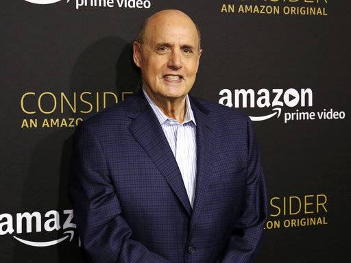 "FILE - In this April 22, 2017 file photo, Jeffrey Tambor arrives at the ""Transparent"" FYC special screening in Los Angeles. Trace Lysette, an actress on ""Transparent,"" says the show's star Tambor pressed his body against hers in a sexually aggressive manner during filming and made inappropriate and unwanted sexual statements. Tambor denies the allegations saying he has ""never been a predator - ever.� (Photo by Willy Sanjuan/Invision/AP, File)"