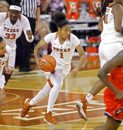 Underwood, McCarty, No. 2 Texas top Texas-San Antonio 120-70