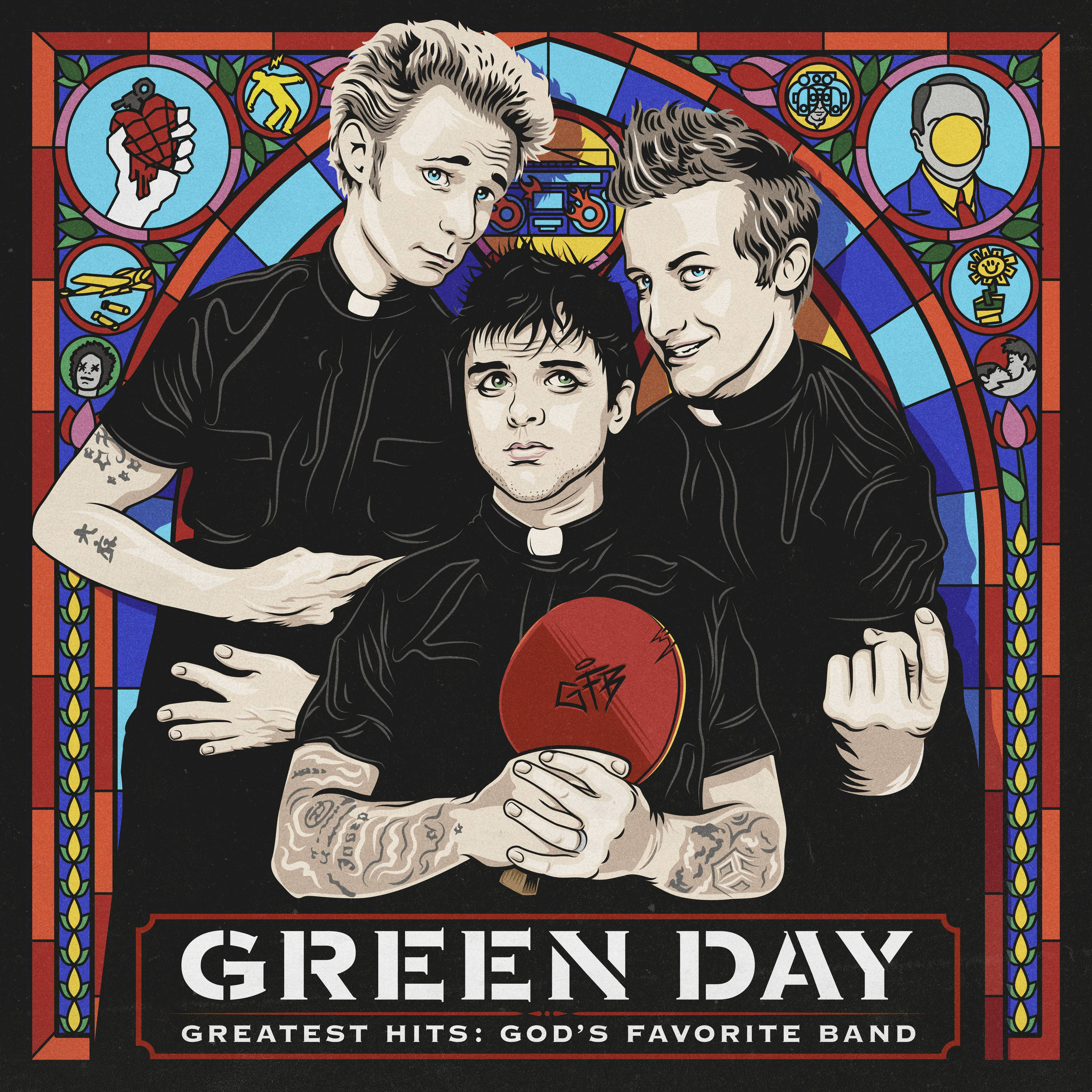 "Green Day released ""Greatest Hits: God's Favorite Band"" on Friday with Reprise Records."