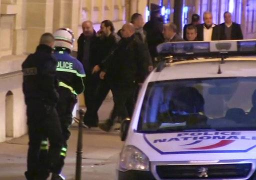 The Latest: Lebanese PM arrives in Paris from Saudi Arabia