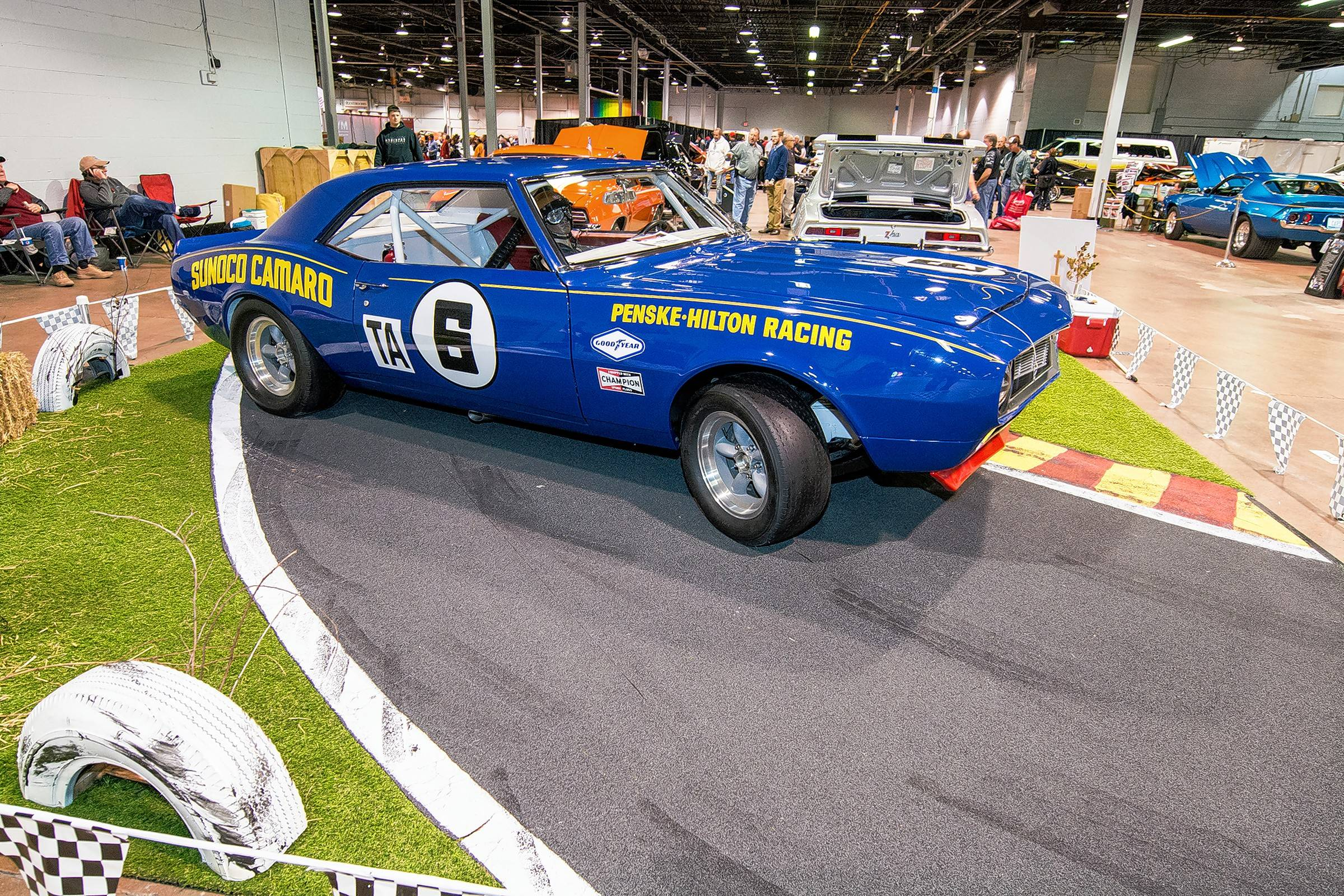 The Muscle Car & Corvette Nationals event returns to the Donald E. Stephens in Rosemont.
