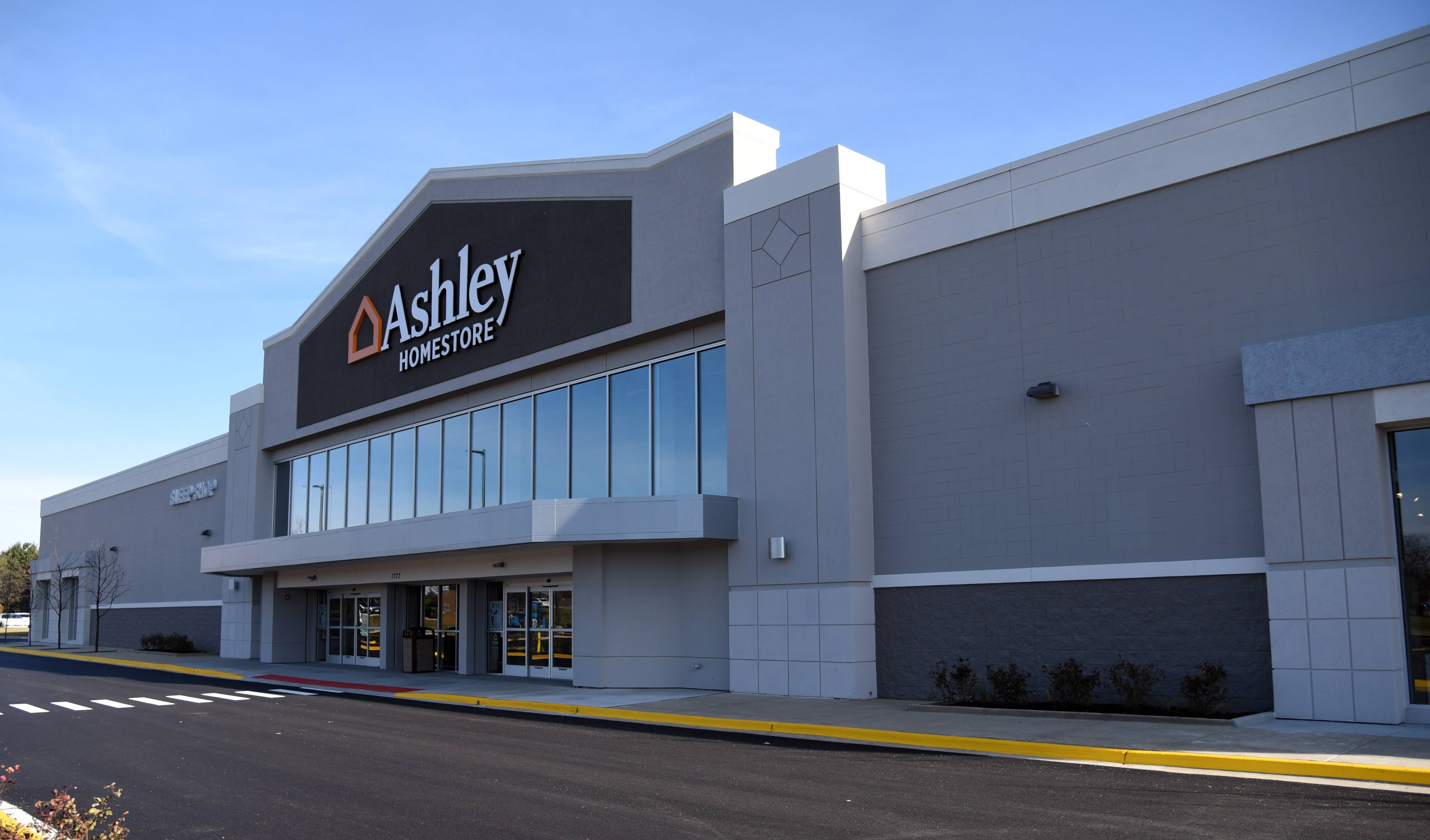 An Ashley Furniture HomeStore Has Opened In The Former Sports Authority  Location On Randall Road In