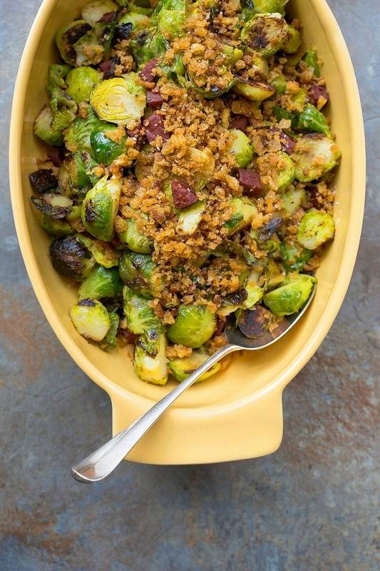 Pan-Roasted Brussels Sprouts is a spotlight-stealing side