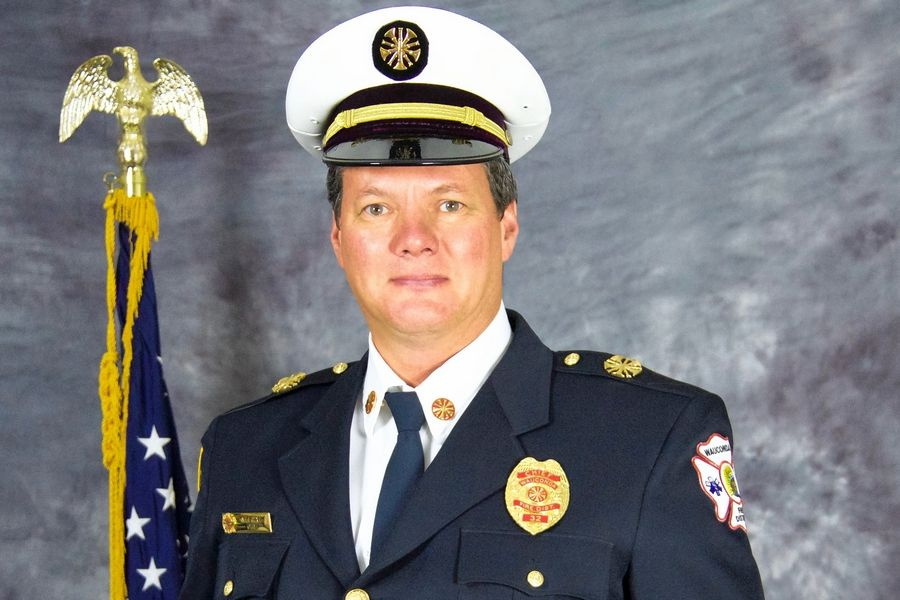 Wauconda Fire District Chief Mike Wahl is retiring in December.