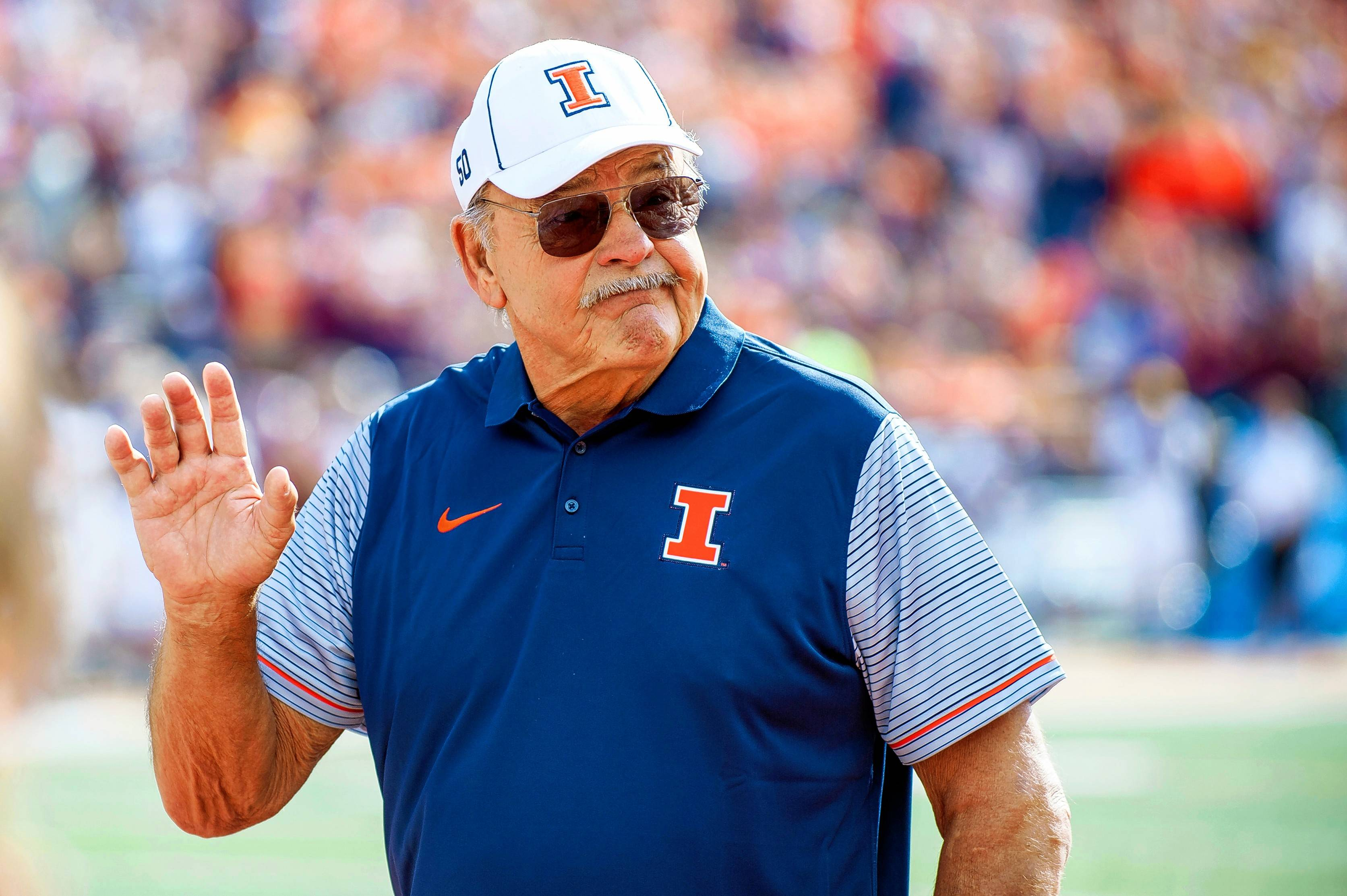Dick Butkus, former Illinois and Chicago Bears linebacker, will be honored by the University of Illinois with a bronze statue.