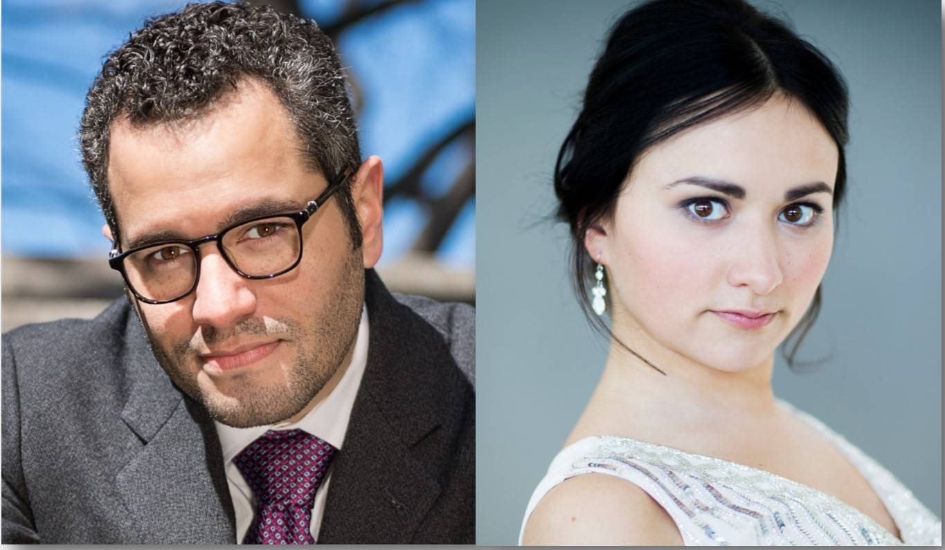 Friday, Nov 24, 98.7 WFMT to Air ESO Performance featuring Andrew Grams and Dinara Klinton