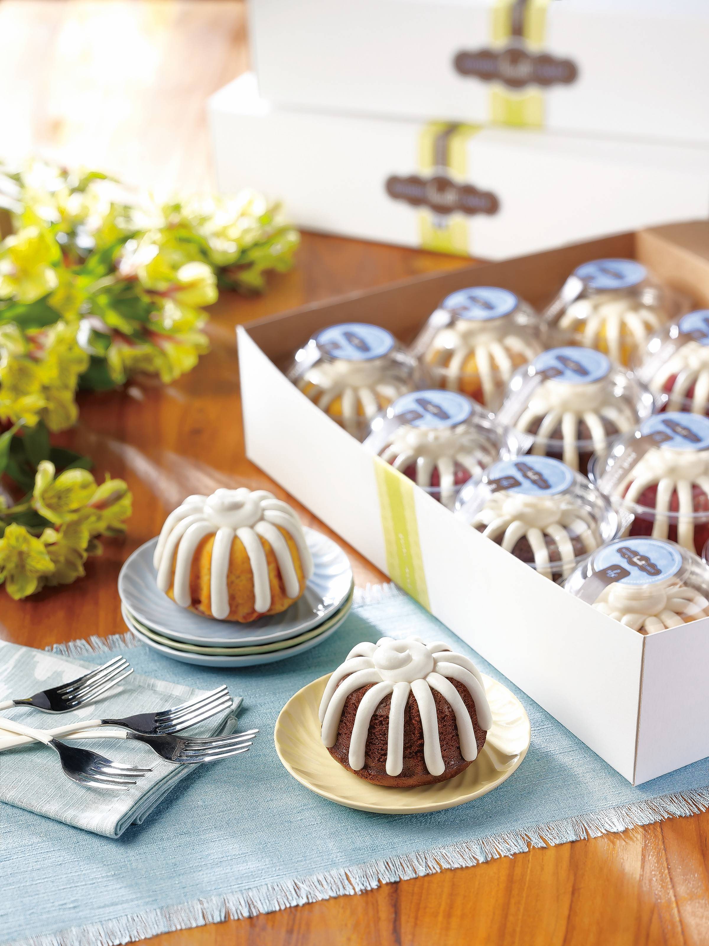 The owners of Nothing Bundt Cakes in Vernon Hills are planning events for the opening weekend.