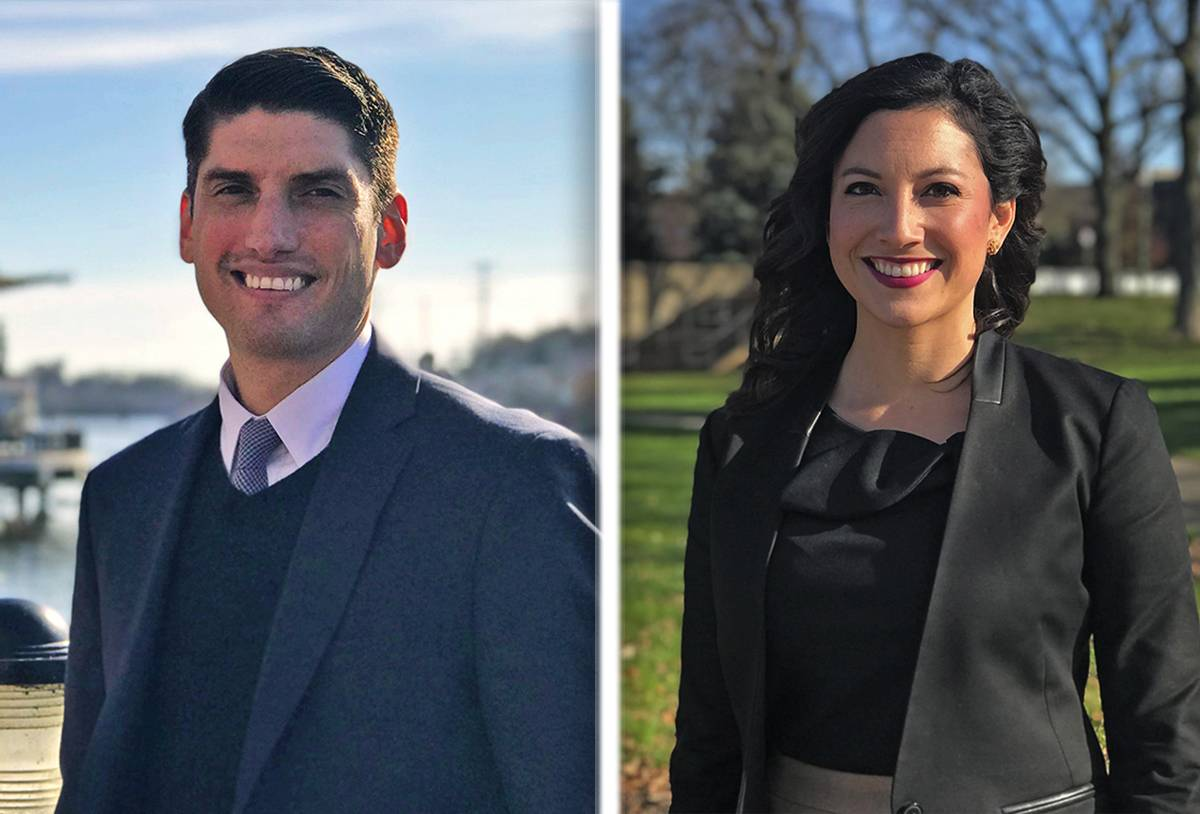 Aaron Cosentino and Laura Valdez have been promoted assistant city managers in Elgin. They served as senior management analysts.