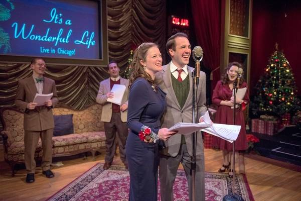 american blues theater remounts its a wonderful life live in chicago - Christmas Shows In Chicago