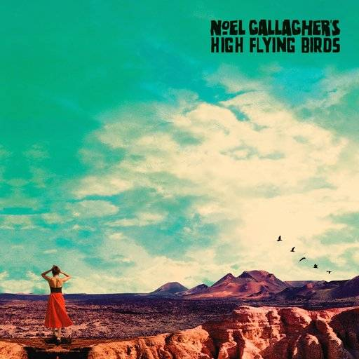 "This cover image released by Sour Mash Records shows ""Who Built The Moon?"" by Noel Gallagher's High Flying Birds. (Sour Mash Records via AP)"