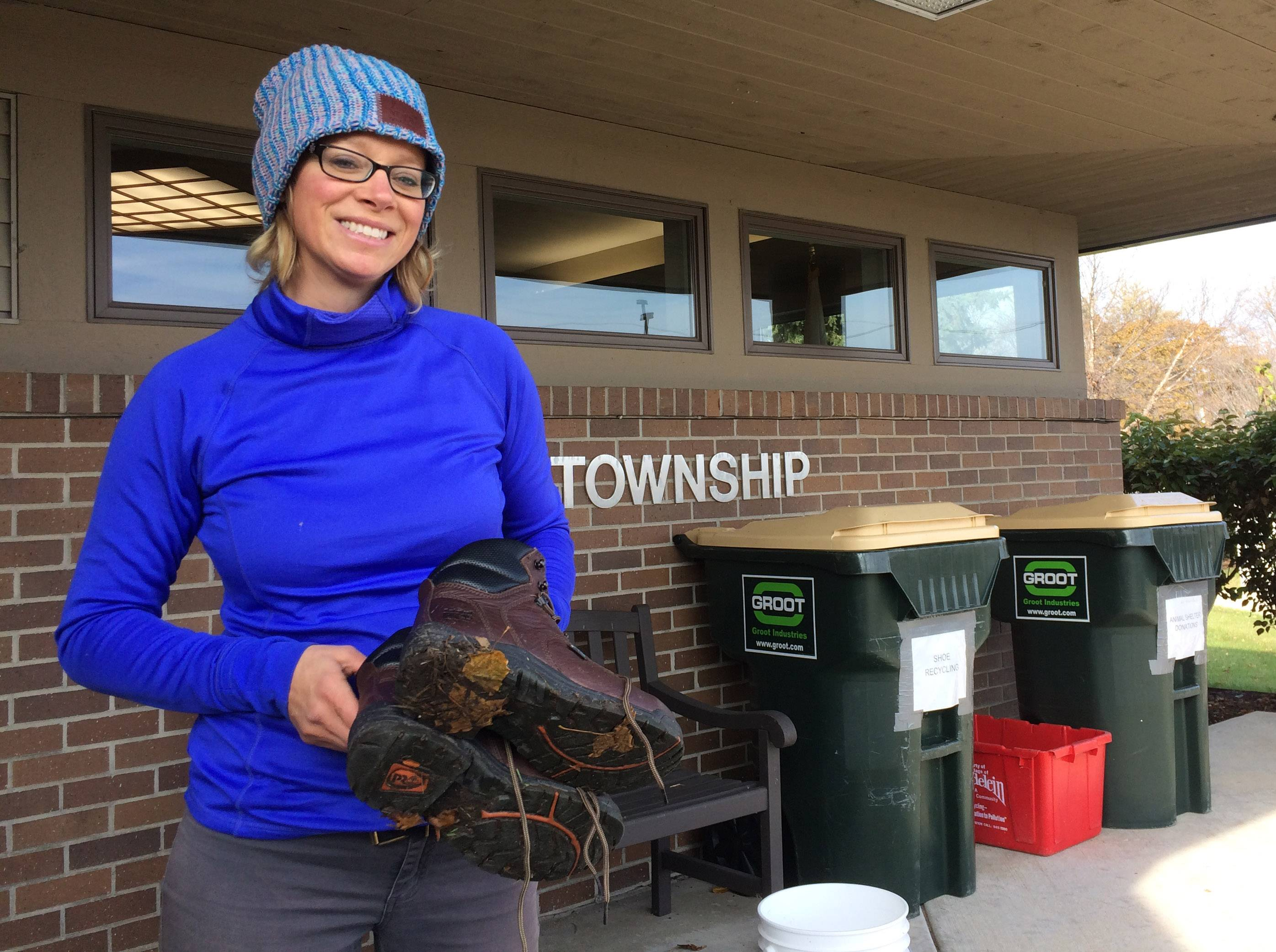 Alicia Dodd has guided the transformation of a weedy patch outside Fremont Township offices into a bountiful garden with dozens of varieties of organic vegetables and herbs. It's also an outdoor classroom for students, scouts and others.