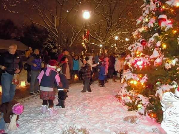 The tree-lighting ceremony takes place at 6 p.m. Saturday, Dec. 2, at the Lisle Village Hall.