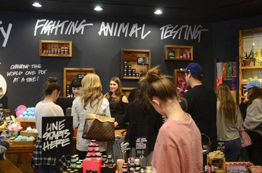 Lush is a privately-owned company that produces different types of cosmetic products, from hair, body and foot care to bath and shower care. It also features bath bombs called ballistics that dissolve in the bath to release essential oils, flower petals and seaweed.