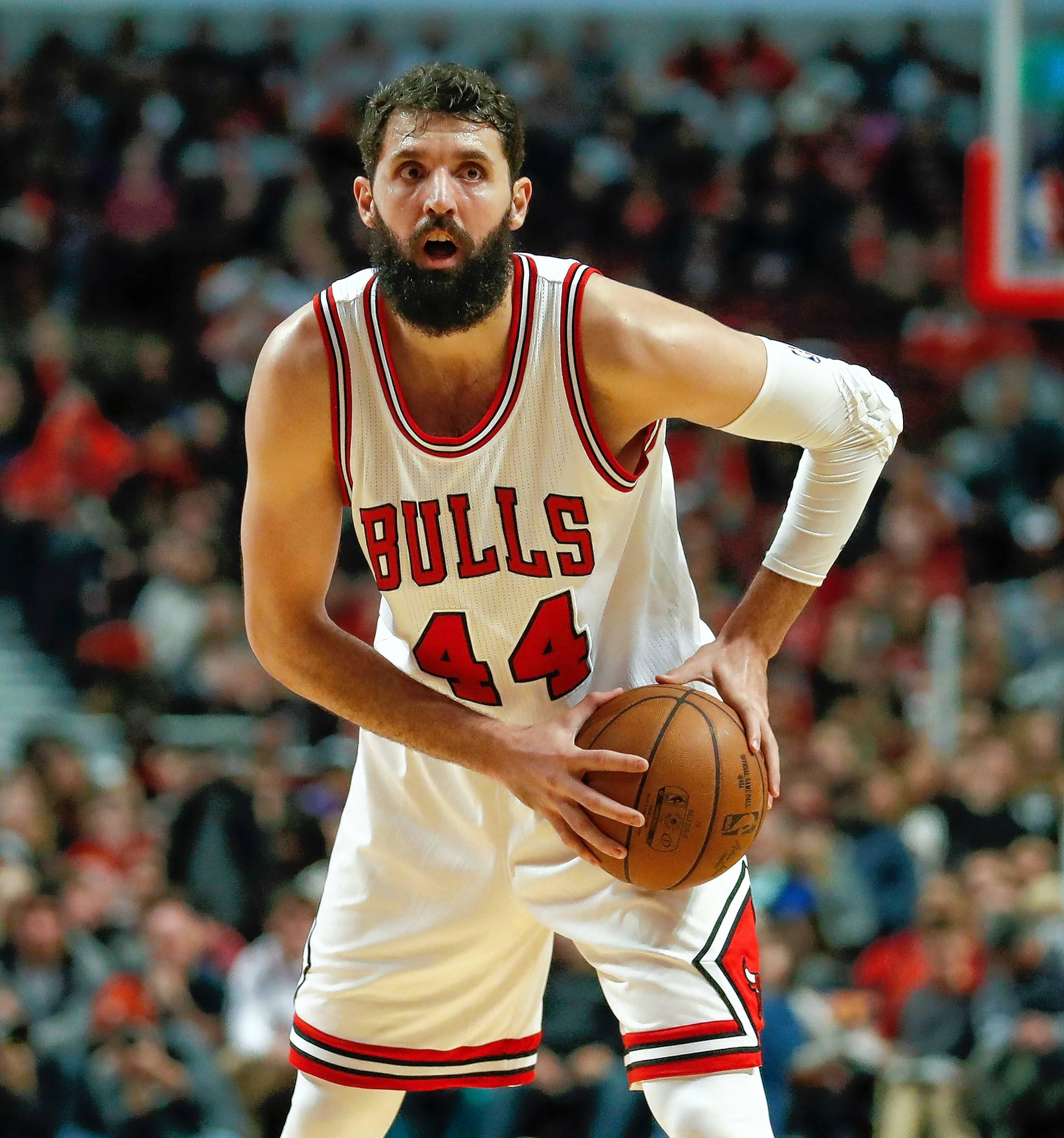 Chicago Bulls forward Nikola Mirotic worked out on his own while the team was away on the West Coast trip, but there is still no word on when — or even if — Mirotic will start practicing with the team again.