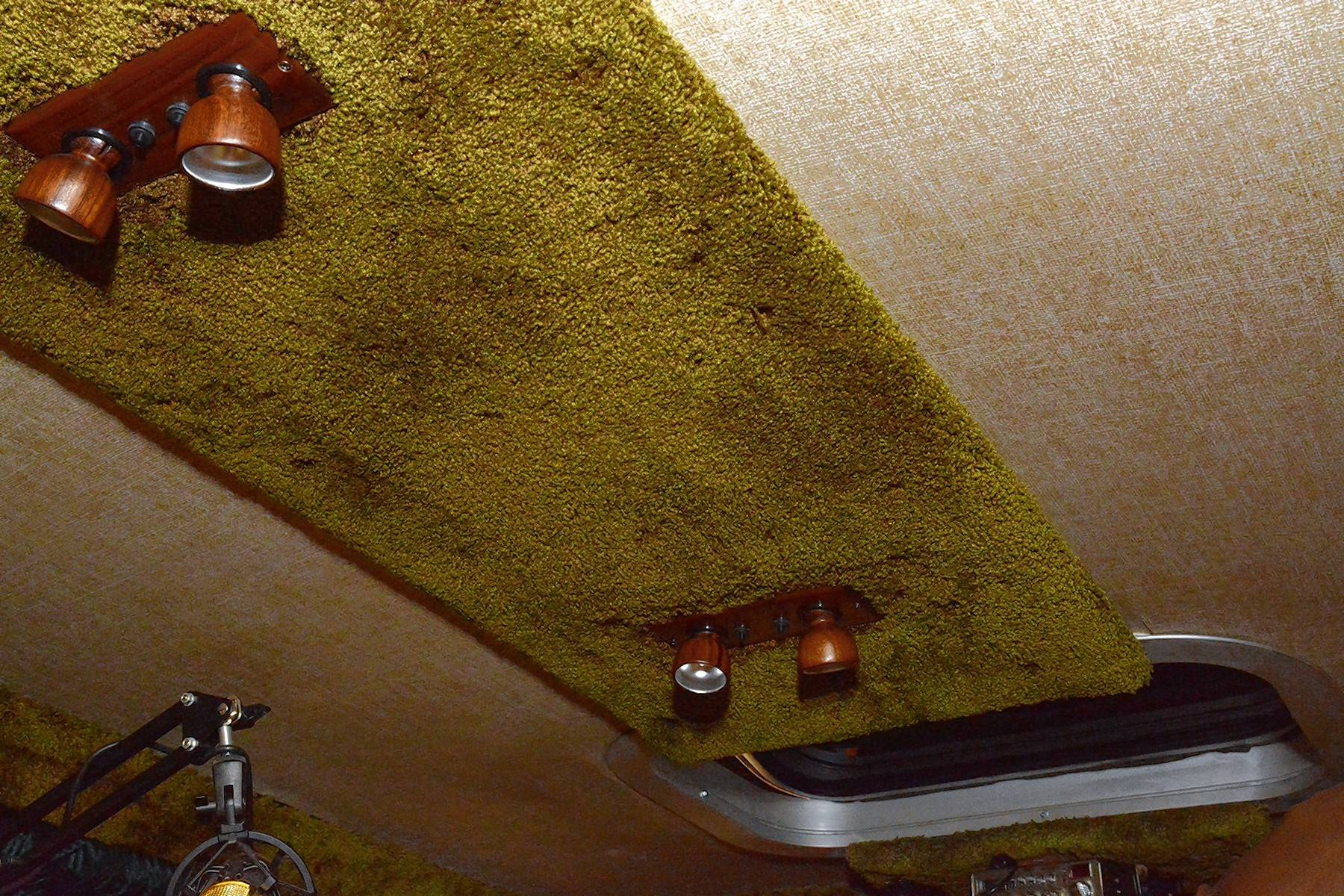 No 1977 Street Van would be complete without shag carpeting on the ceiling.