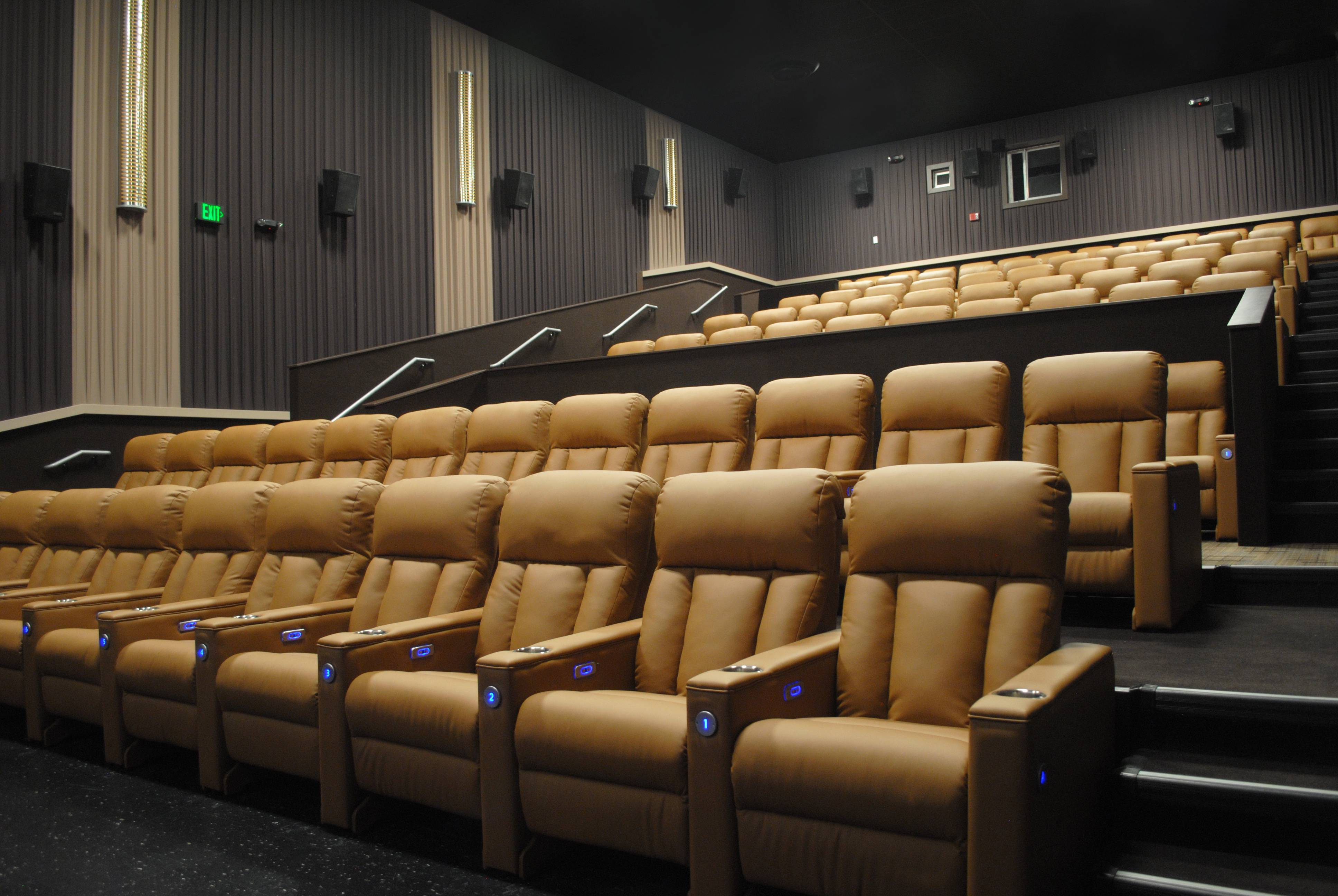 Charlestowne Mall Classic Cinemas is installing all new lounge-style chairs in its theaters.