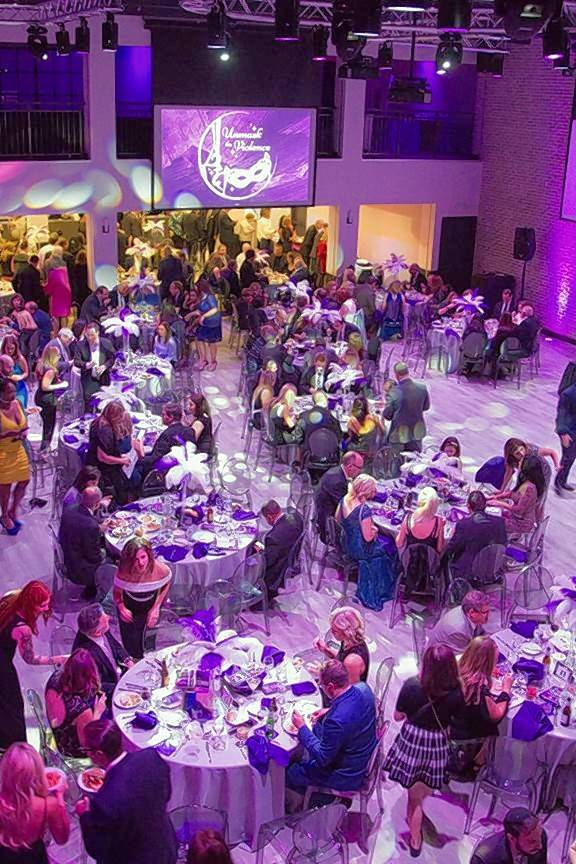 More than 300 guests attended the eighth annual Unmask the Violence Gala at Loft 21 in Lincolnshire.