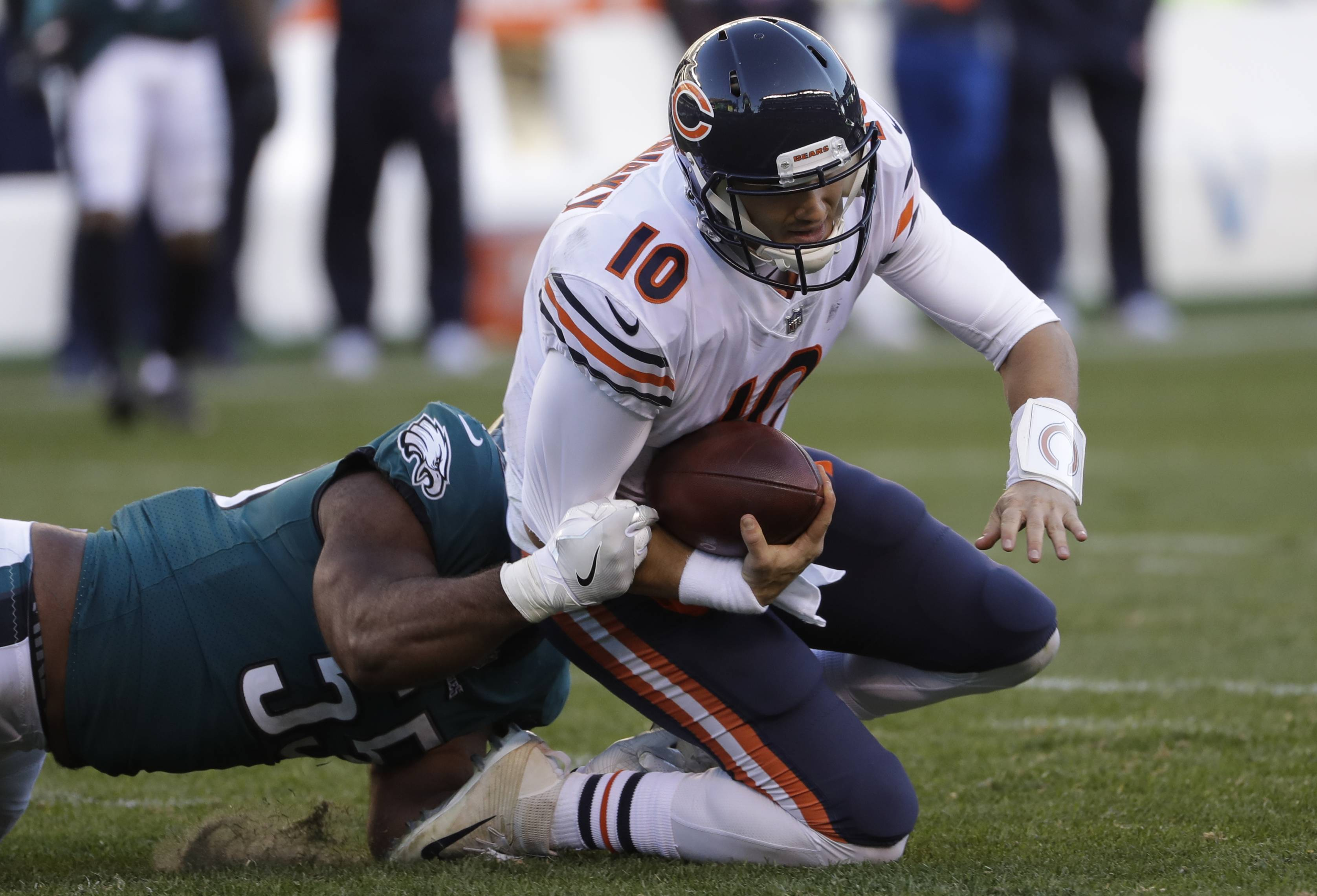 Fox not worried about Trubisky's progress with Chicago Bears