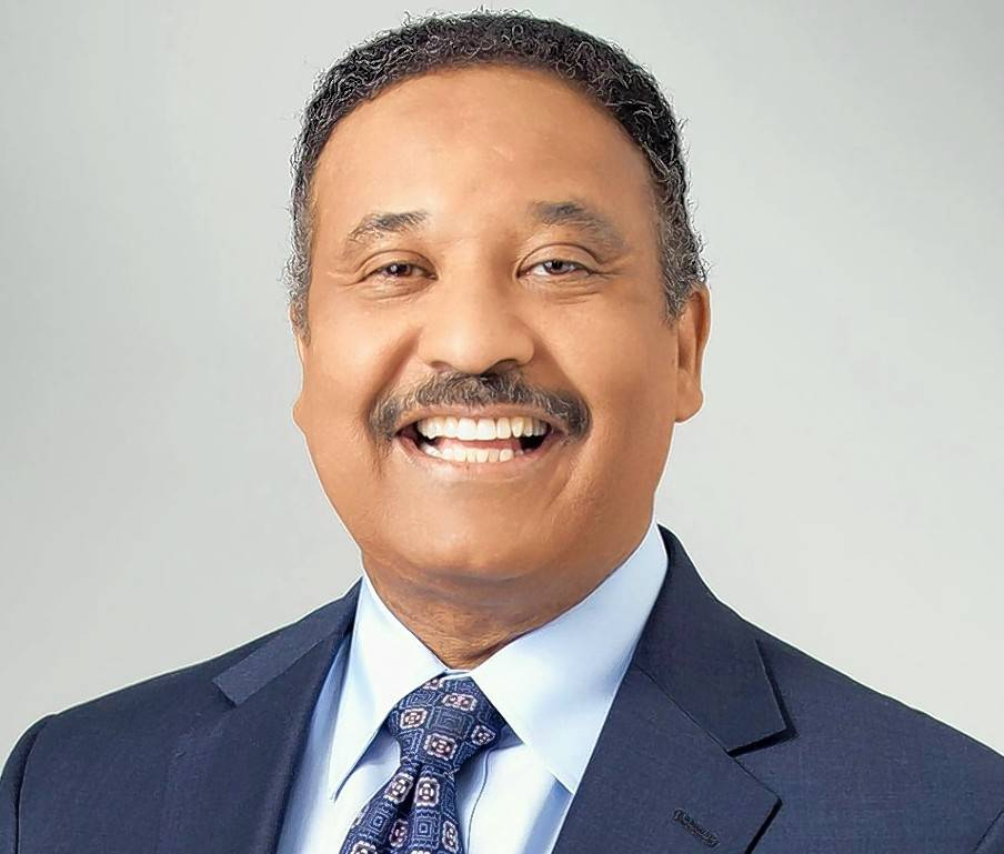 WBBM-Channel 2 chief meteorologist Steve Baskerville, who has announced that he plans to step down effective Dec. 22, 2017.