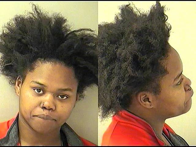 Taytianna B. Jones was being held on $500,000 bail on carjacking charges.