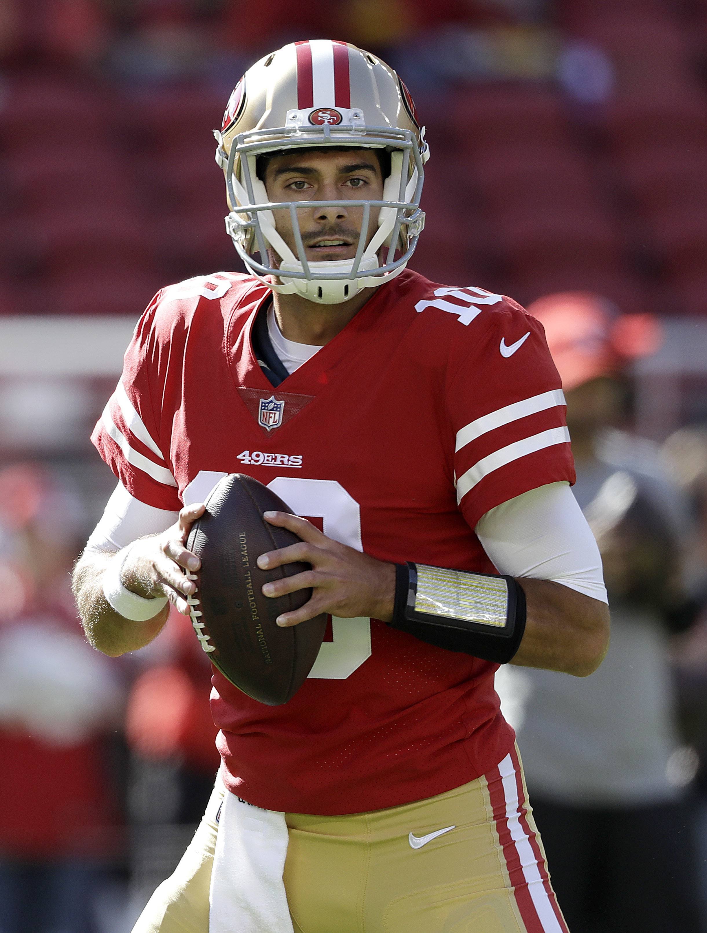 Garoppolo coming home to face Chicago Bears