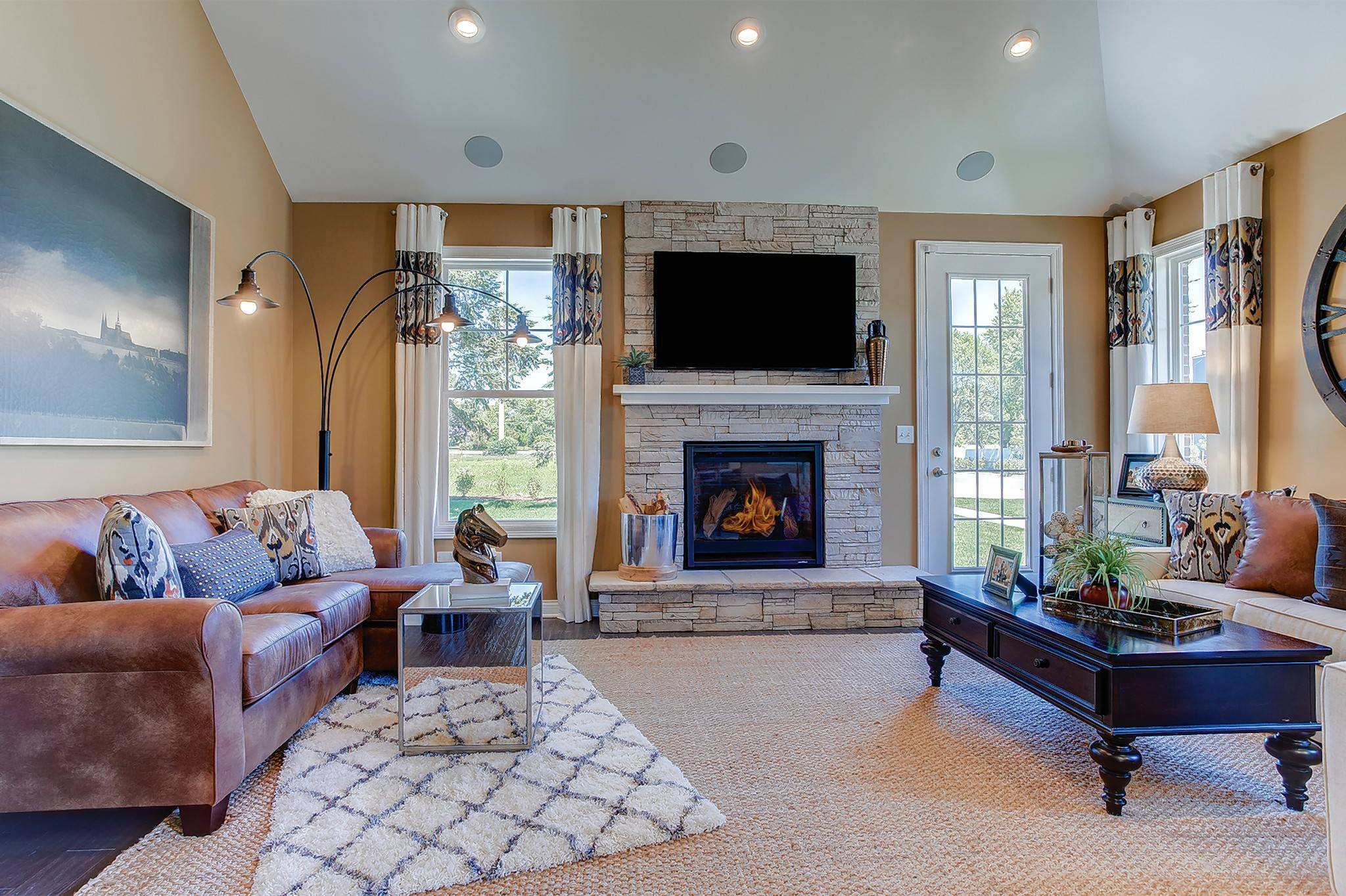 The duplexes the Villas At Trafford Place in Naperville are priced from $453,595 to $529,611.