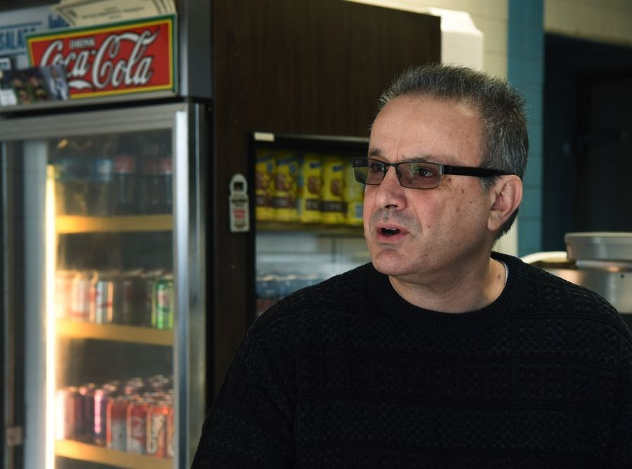 Tom Zoumaras, owner of Submarine Express in Mount Prospect, says he welcomed the end of the Cook County soda tax on Friday.