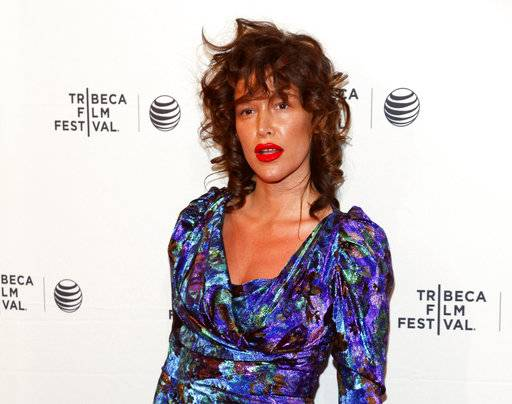 "FILE - In this April 19, 2015 file photo, Paz de la Huerta attends the Tribeca Film Festival world premiere of ""Bare"" at the SVA Theatre in New York. The lawyer for de la Huerta, who accused Harvey Weinstein of rape said Friday, Dec. 1, 2017, that she is frustrated prosecutors have not yet brought criminal charges. The ""Boardwalk Empire� actress publicly accused the movie producer of raping her twice in 2010. She began speaking with police about the accusation in late October. (Photo by Andy Kropa/Invision/AP, File)"
