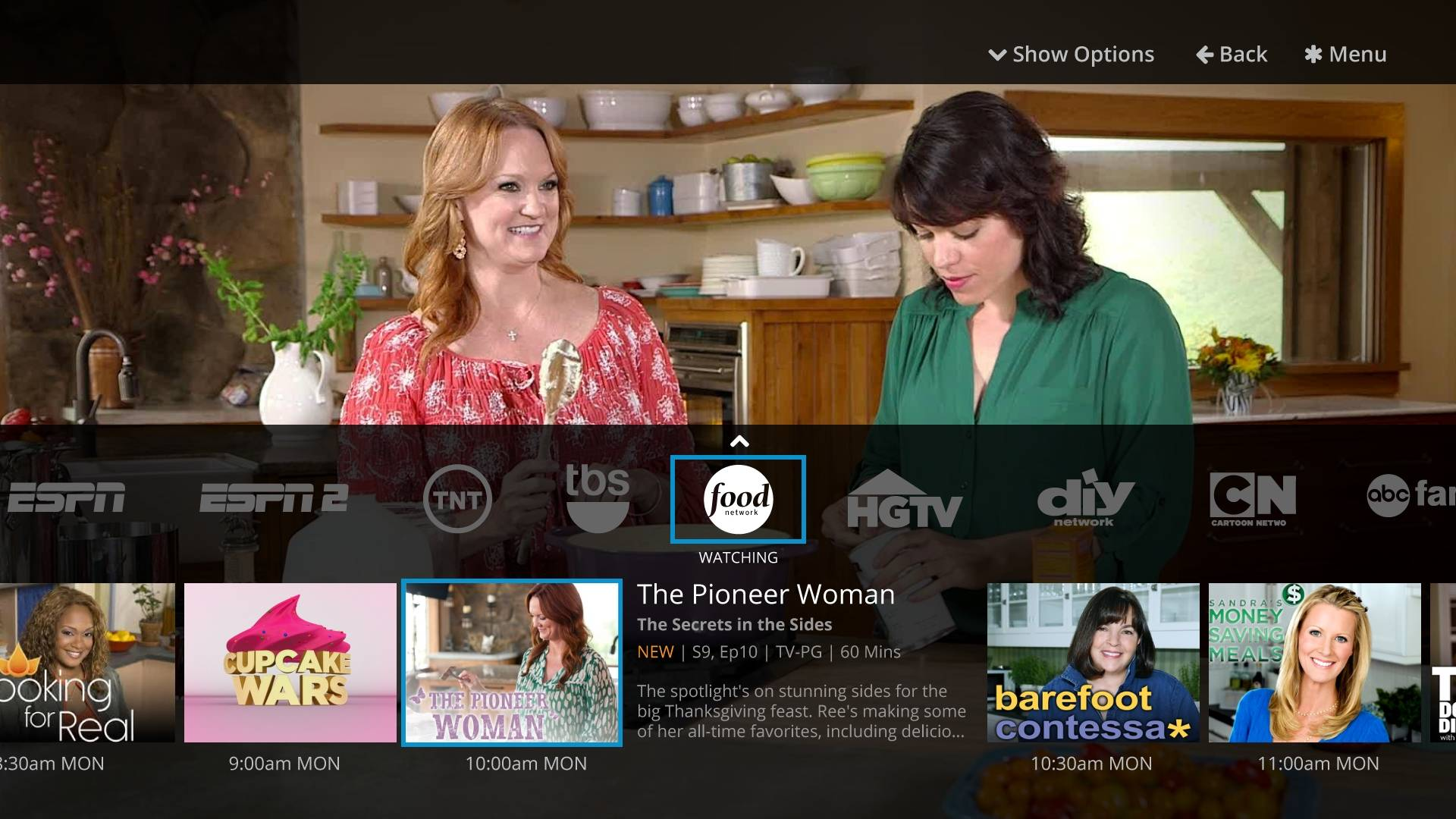 "For cord cutters, the Sling TV app offers two separate ""skinny bundles"" that can be streamed over a television or mobile device."