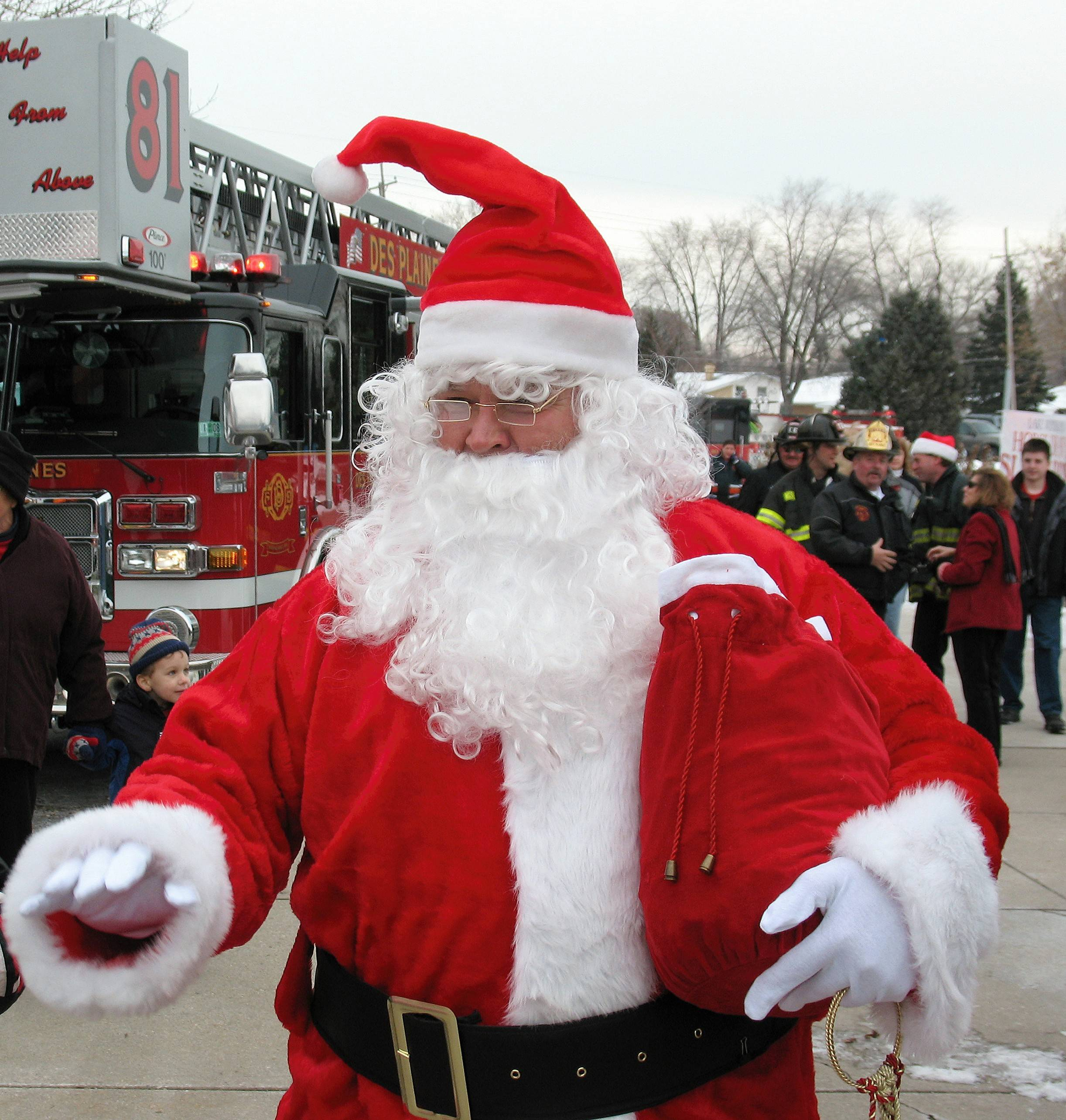 Santa Claus will be on hand to meet visitors at the Winter Wonderland Holiday Festival in Des Plaines.