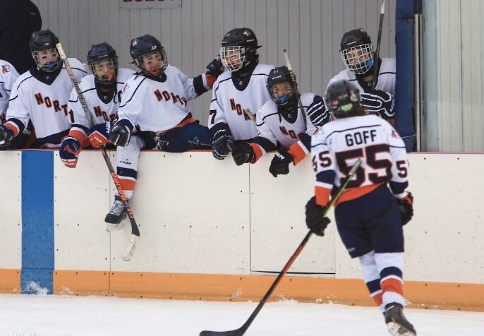 Naperville North High School junior Rachel Goff is among the top junior varsity forwards in the team's conference, according to coach Steve Climo. She's already committed to playing college hockey at Rochester Institute of Technology in New York.