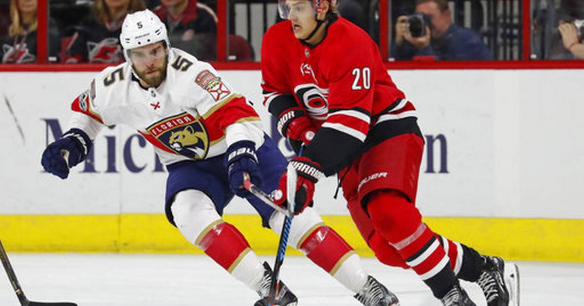 Hanifin scores late in OT to lift Hurricanes past Panthers caedfa082