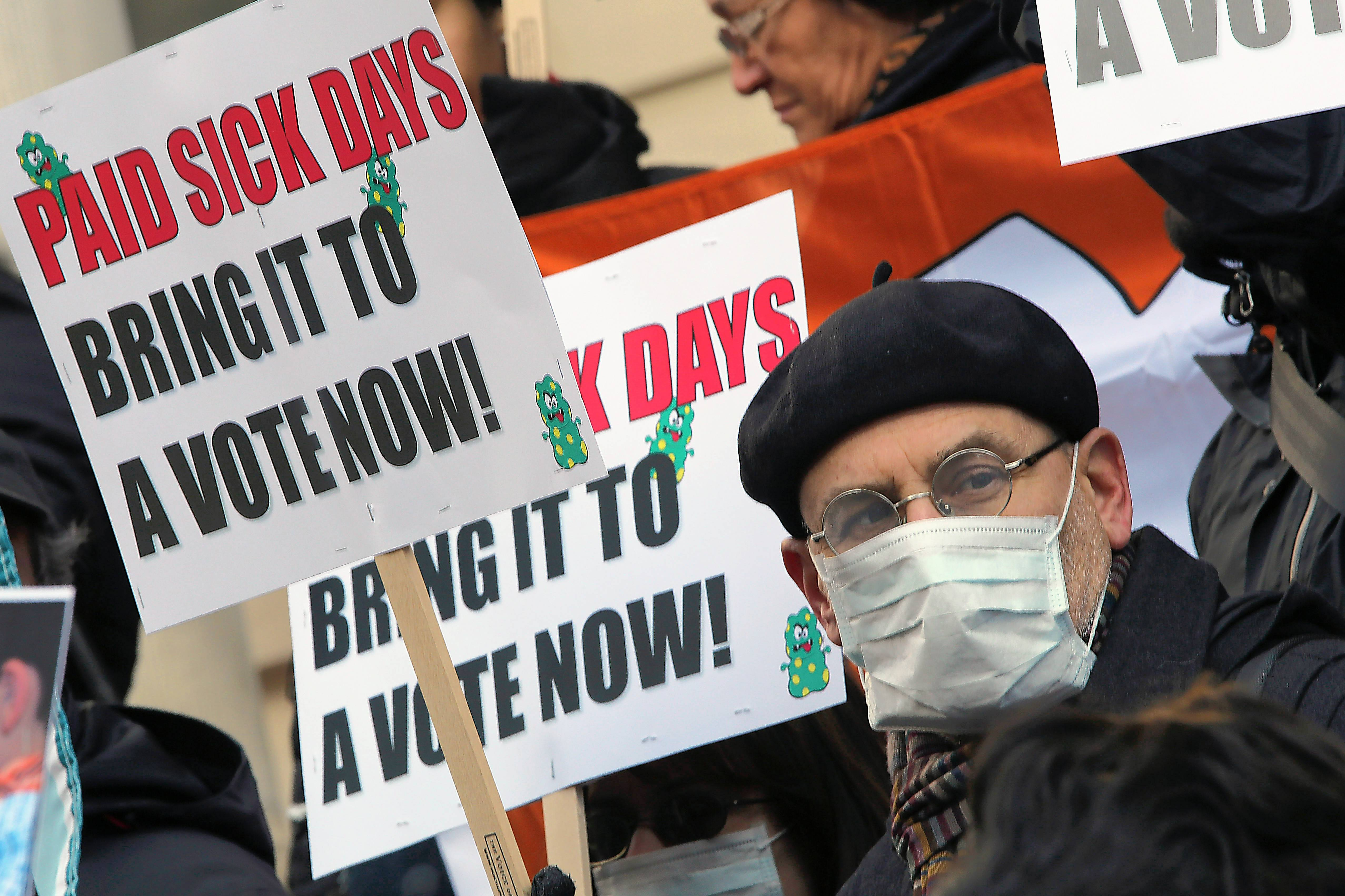 Most of the current local laws give employees the right to request sick days without notice, and employers can almost never deny them. The new federal legislation would allow managers to reject workers' requests for time off.