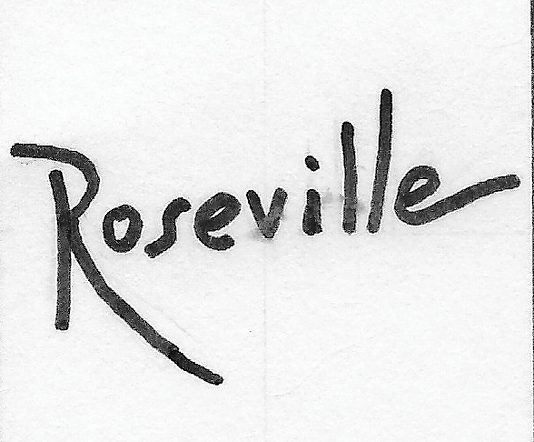 Roseville Pottery was founded in Zanesville, Ohio, in 1892.