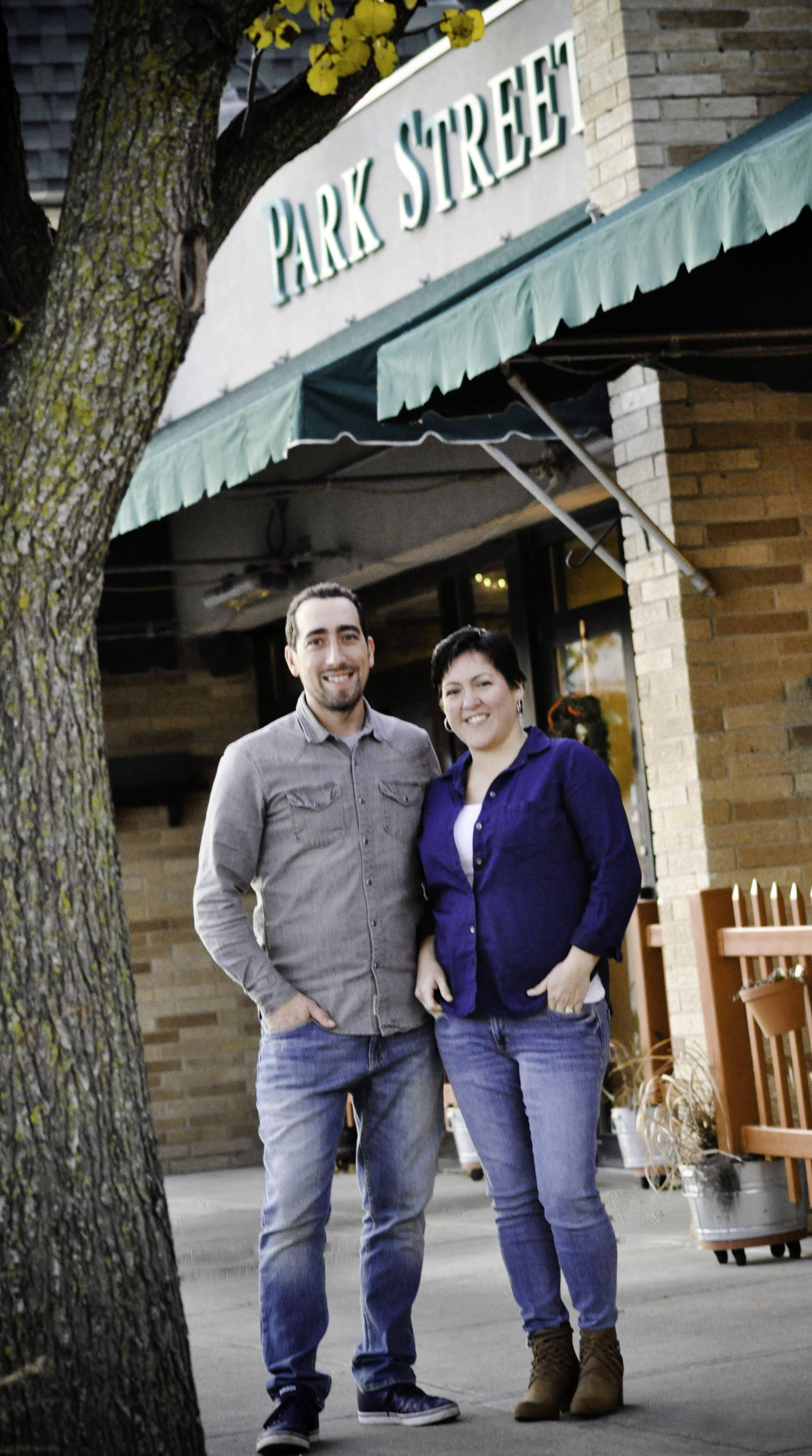 The Park Street Restaurant, an upscale eatery in downtown Mundelein, has changed hands. The new owners are Paul Arroyo and Nora Bellido Arroyo, a Grayslake couple.
