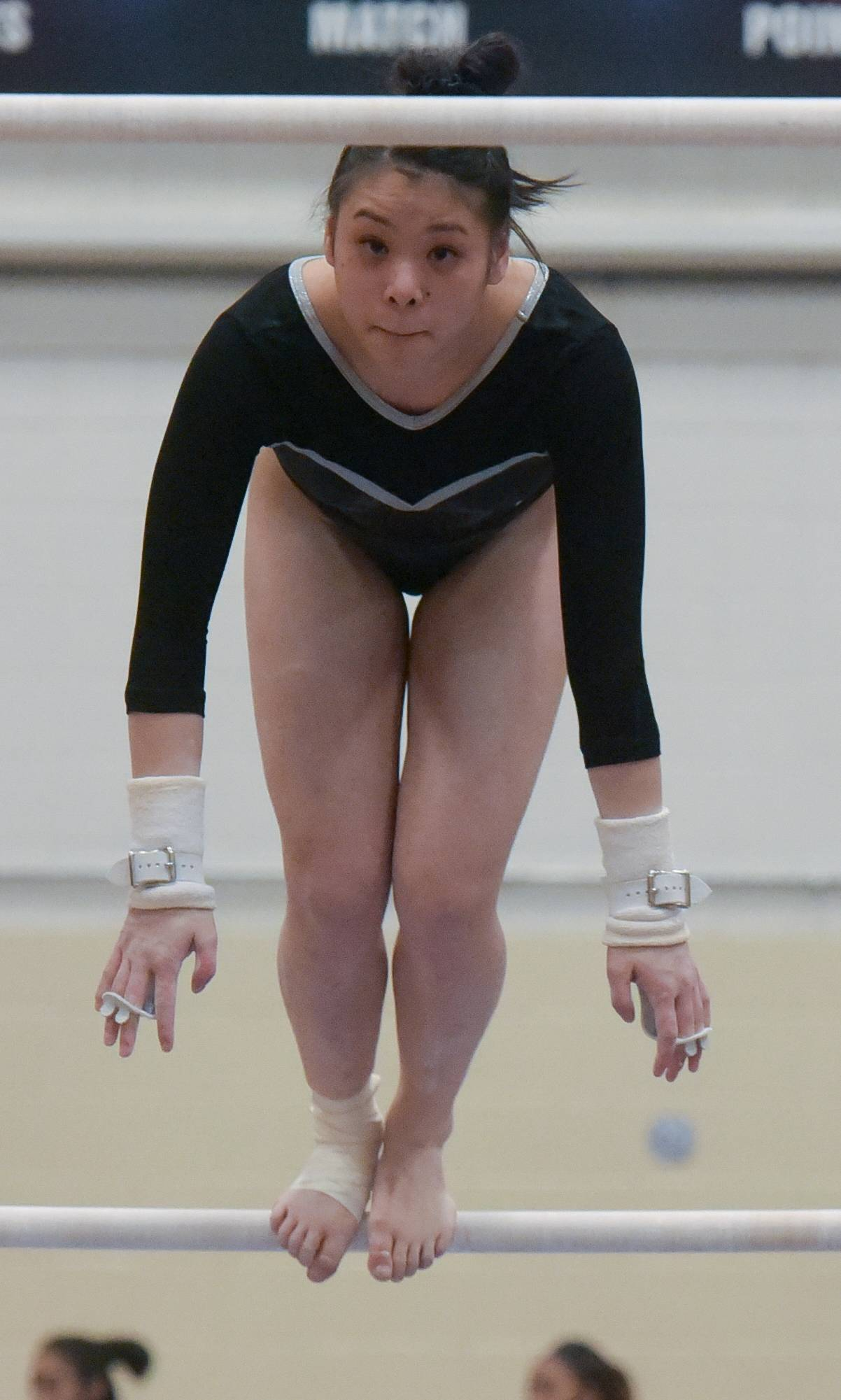 St. Charles' Emma Grace Redmond-Mattucci returns for her senior season on the St. Charles co-op girls gymnastics team.