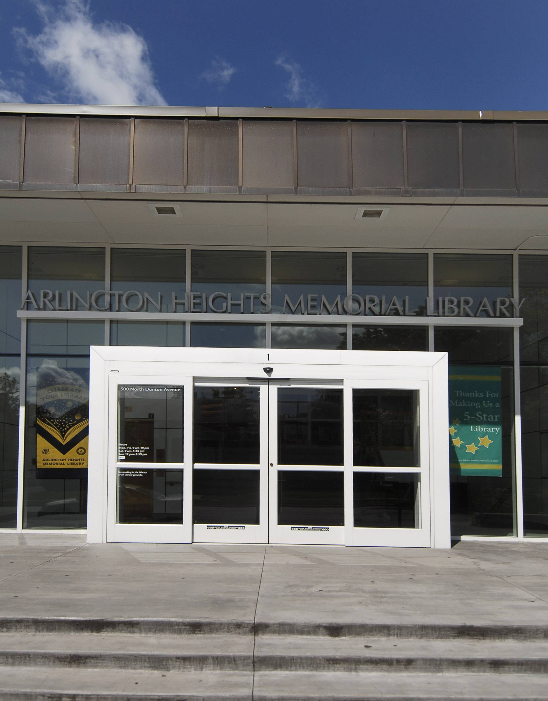 The Arlington Heights Memorial Library has earned a five-star rating from a national publication for 10 consecutive years.