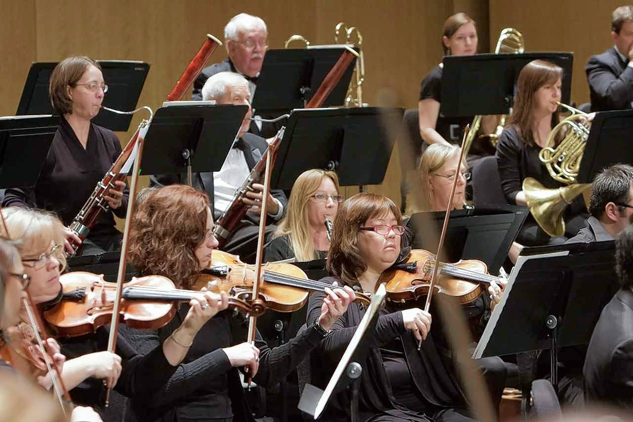 The Harper Symphony Orchestra is composed of more than 75 professional, community and college musicians.